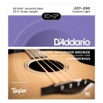 EXPPBB190GS Coated Phosphor Bronze Комплект струн для акуст.бас-гитары, Taylor GS, 37-90, D'Addario