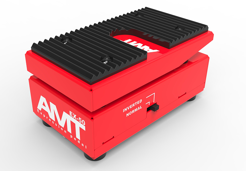 EX-50 FX Pedal Mini Expression Педаль гитарная, AMT Electronics