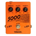 5000-Volt Modern distortion Effect pedal, Yerasov