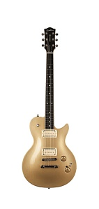 041176 Summit Classic Convertible Gold HG Электрогитара, с чехлом, Godin